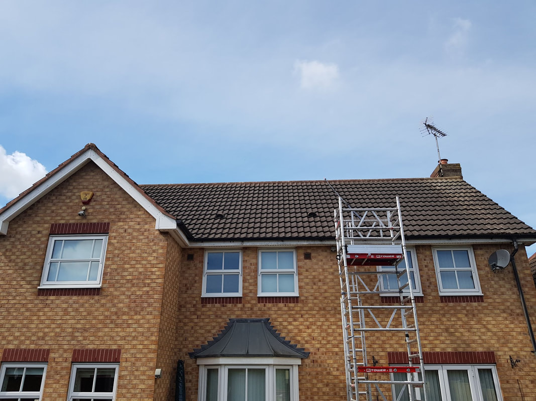 professional Roof Cleaning service Nottingham