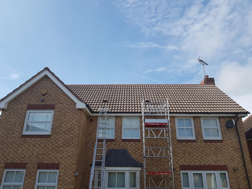 Roof cleaning Derby